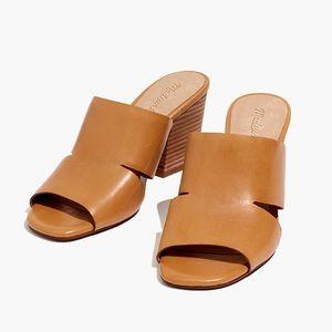 NIB Madewell Tessa Mule in Leather